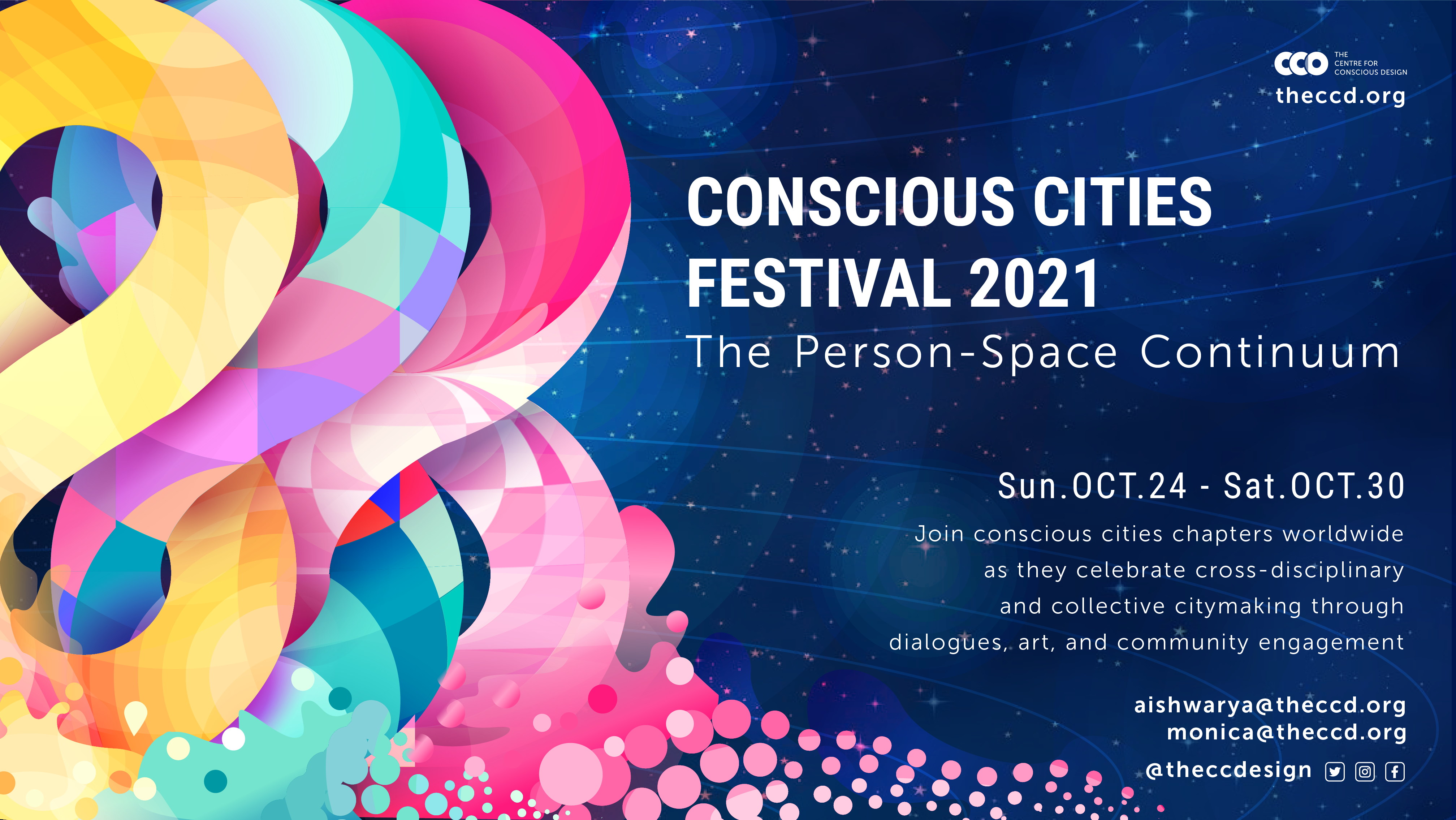 Conscious Cities Festival 2021 | The Person Space Continuum Poster image